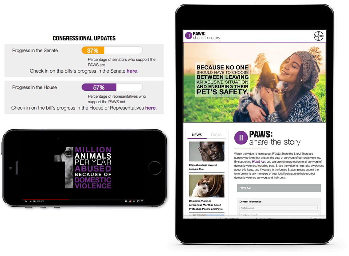 a video marketing company for Bayer Animal Health