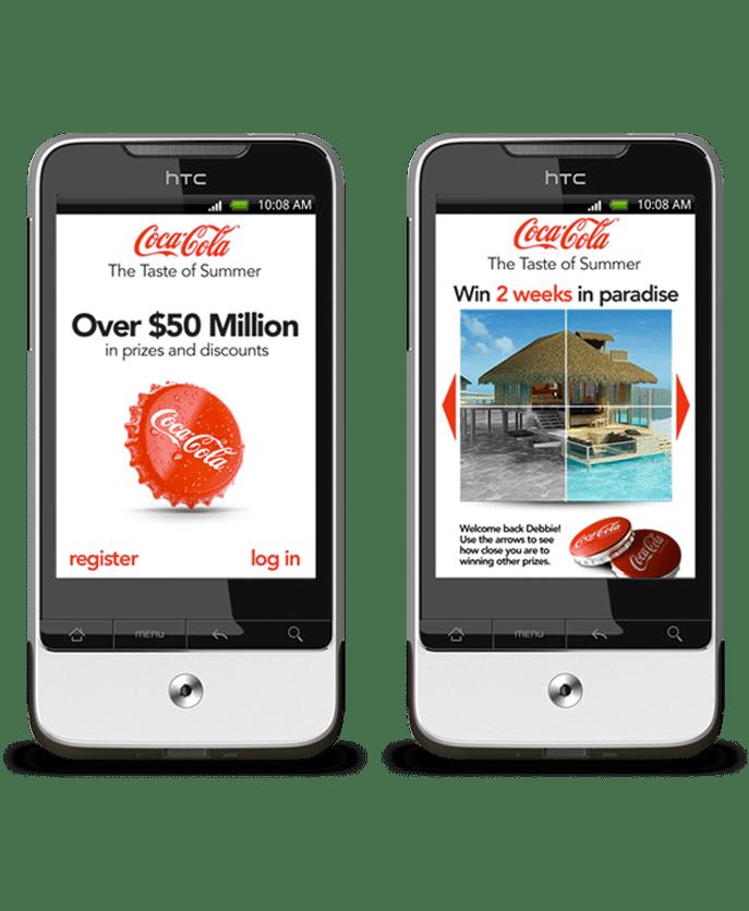 The mobile marketing company for Coca-Cola