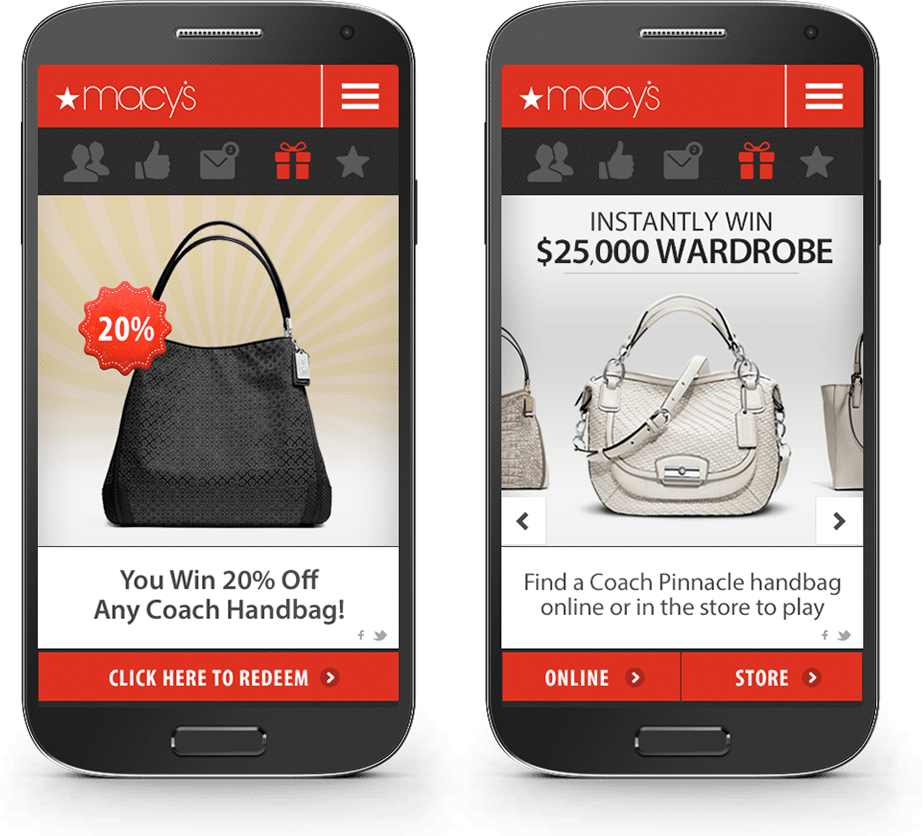 The mobile marketing company for Macy's